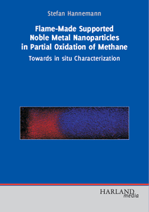 Flame-Made Supported Noble Metal Nanoparticles in Partial Oxidation of Methane